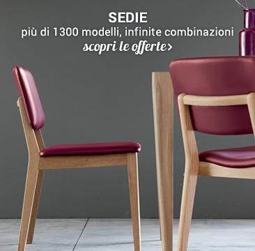 SEDIE oltre 1300 modelli »