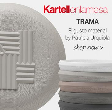 KARTELLenlamesa TRAMA El gusto material by Patricia Urquiola