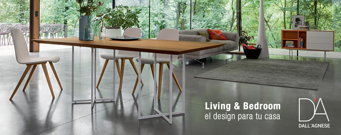 Dall'Agnese Living & Bedroom el design para tu casa