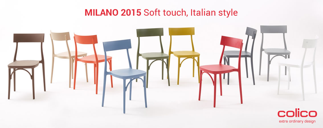 MILANO 2015 Soft touch, Italian style Colico extra ordinary design
