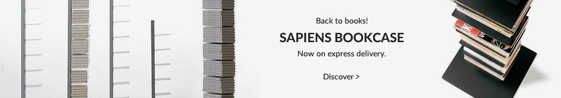SAPIENS BOOKCASE Now on express delivery. Shop now right away