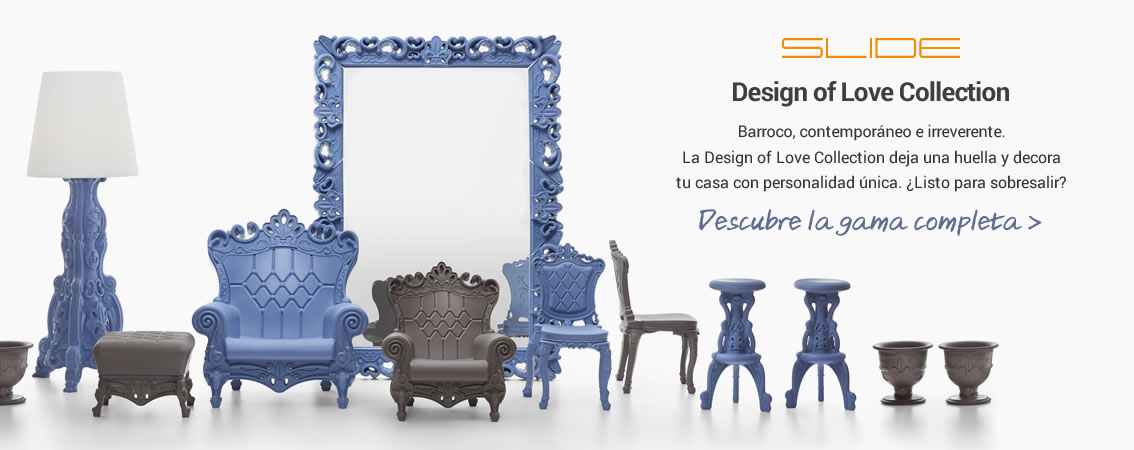 Slide Design of love collection