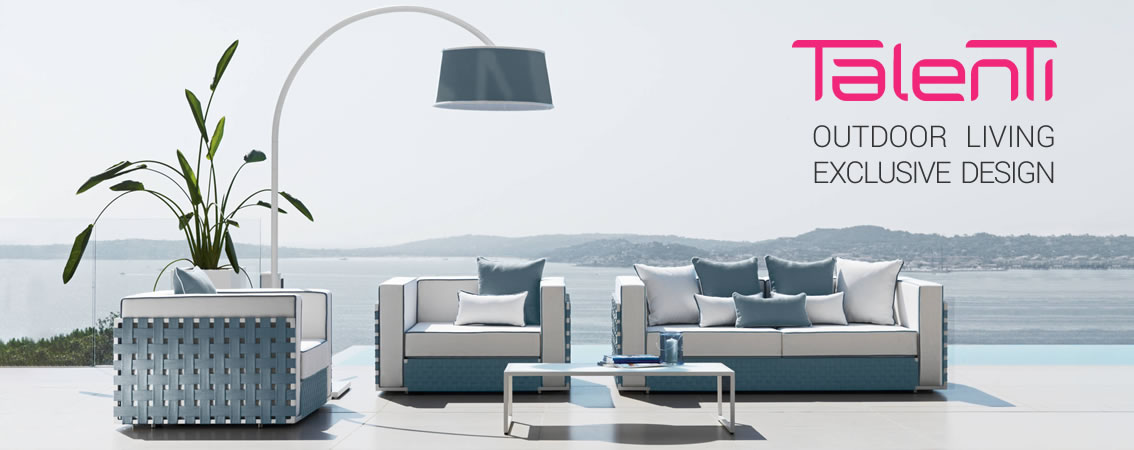 Talenti outdoor living exclusive design