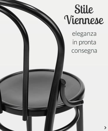 Stile Viennese eleganza in pronta consegna