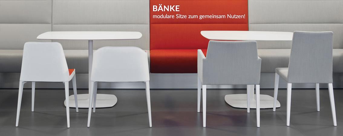BÄNKE modulare Sitze zum gemeinsam Nutzen!