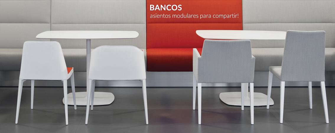 BANCOS asientos modulares para compartir!