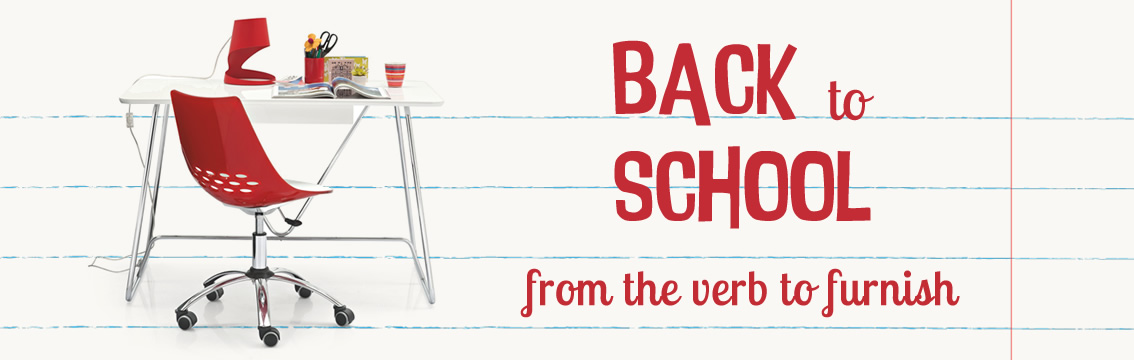 Back to school selection: furnishing with fun!