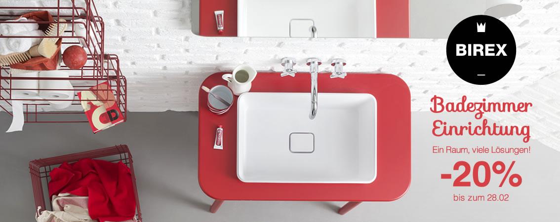 Badezimmer Einrichtung Ein Raum, viele Lösungen! -20% bis zum 28.02