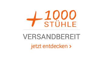 + 1000 stühle versandbereit