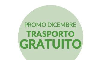 PROMO DICEMBRE TRASPORTO GRATUITO