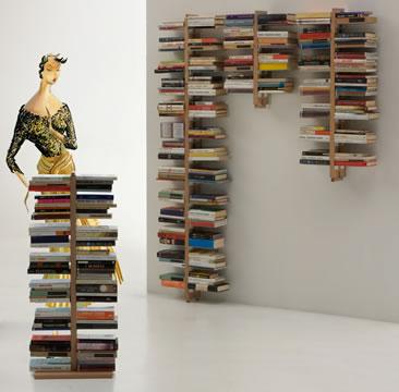 Arredare con i libri...  e le librerie!