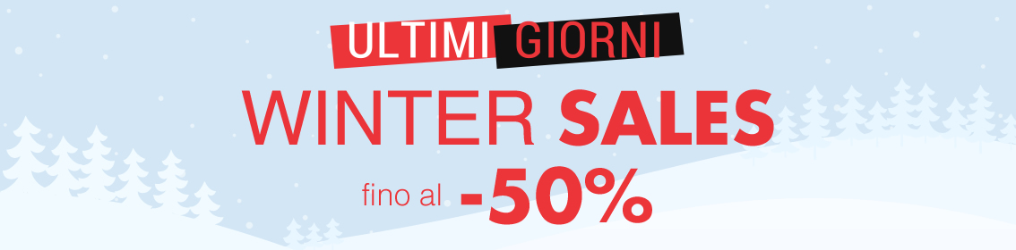 WINTER SALES fino al -50%
