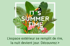 BIENVENUE À L'ÉTÉ! une sélection de produits conçus pour mieux profiter de votre outdoor