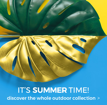 IT'S SUMMER TIME discover all the outdoor furniture