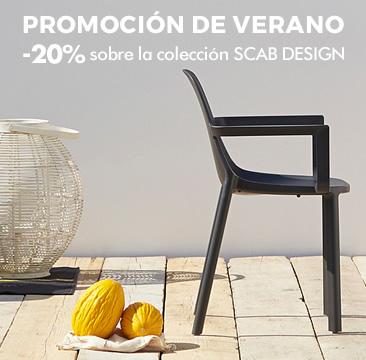 PROMOCIÓN DE VERANO -20% sobre la colección SCAB DESIGN