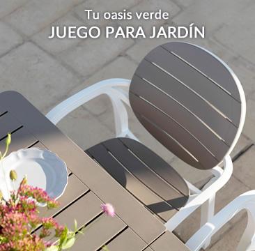Tu oasis verde JUEGO PARA JARDÍN