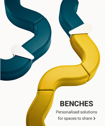 BENCHES Personalised solutions for spaces to share