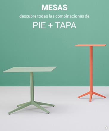 MESAS descubre todas las combinaciones de PIE + TAPA