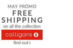 MAY PROMO FREE SHIPPING on the whole collection CALLIGARIS until 31/5