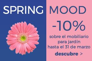 Spring Mood -10% sobre el catálogo para jardín con código promocional: SPRING18