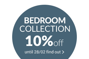 BEDROOM COLLECTION beds furniture accessoires -10% with promo code NIGHT10 until 28/02