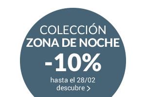 COLECCIÓN ZONA DE NOCHE camas muebles complementos -10% con il código promo NIGHT10 hasta el 28/02