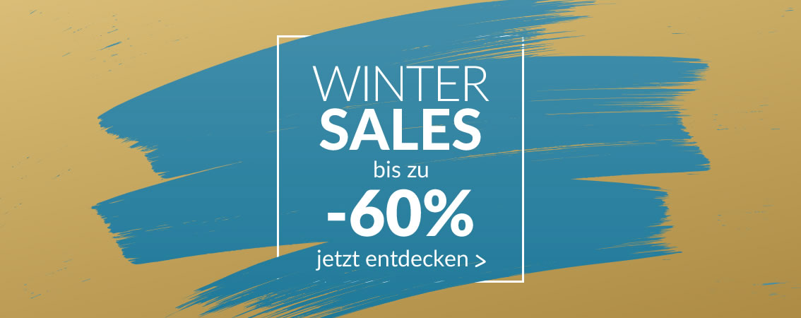WINTER SALES bis zu -60% bis zum 31.01