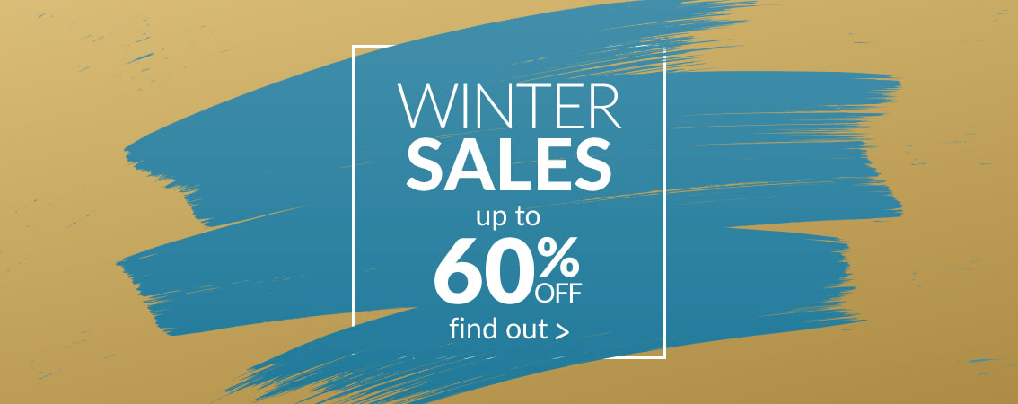 WINTER SALES up to 60% off until 31/01