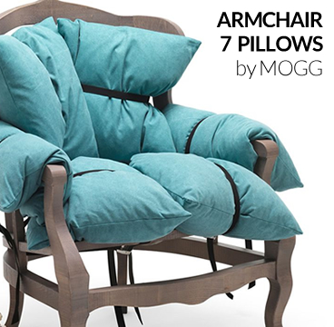 7 PILLOWS BY MOGG
