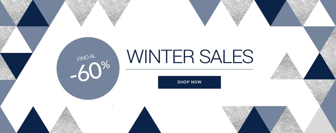 WINTER SALES fino al -60% scade il 31/01