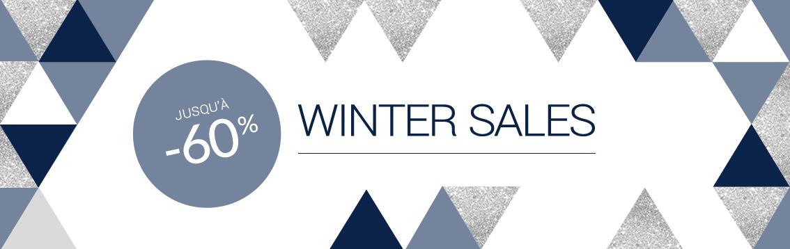 WINTER SALES jusqu'à -60%