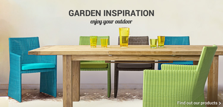 GARDEN INSPIRATION enjoy your outdoor