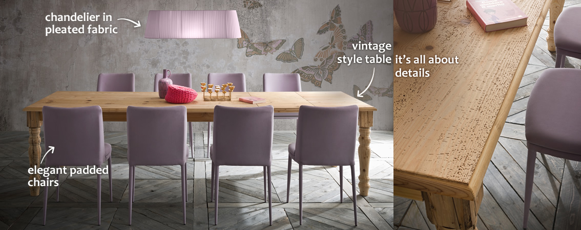 Adriano vintage style table