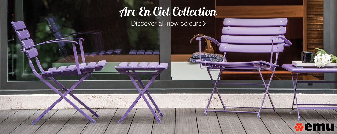 Collection Arc En Ciel Discover all new colours »