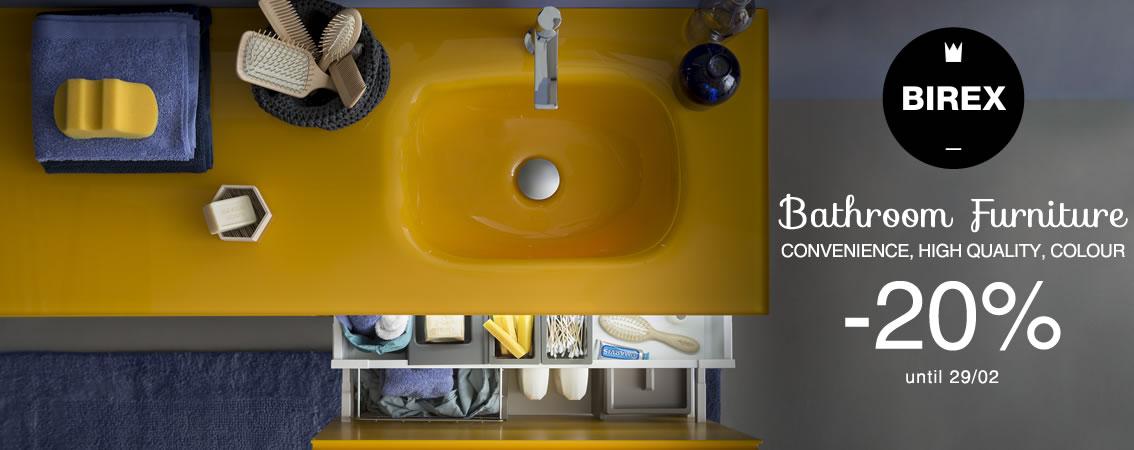 Birex Promo Bathroom Furniture