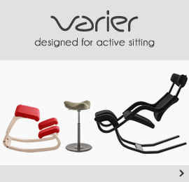 Varier designed for active sitting