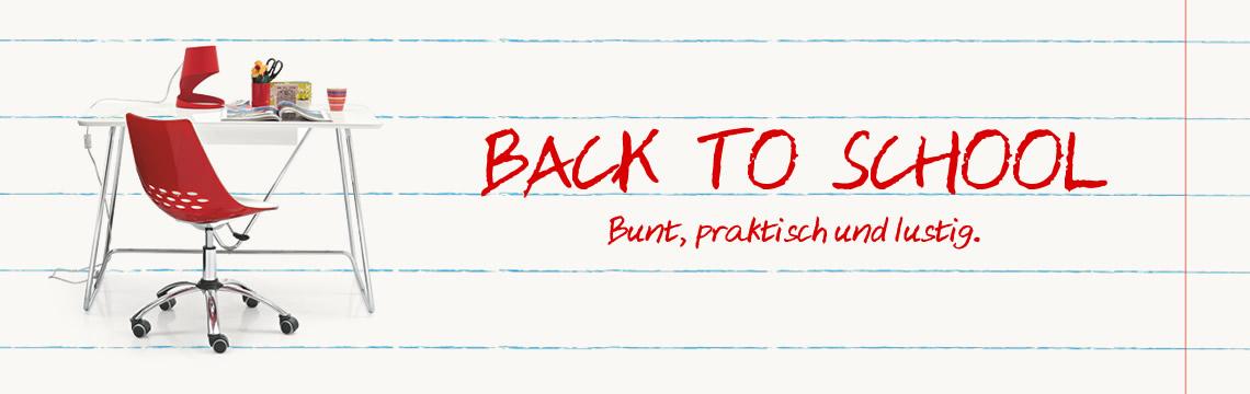 Auswahl Back to school: mit Spaß einrichten!
