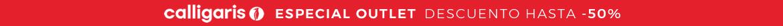ESPECIAL OUTLET DESCUENTO HASTA -70% sobre toda la colección Calligaris y Connubia Outlet hasta el 31.05