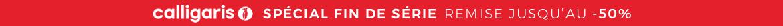 SPÉCIAL FIN DE SÉRIE REMISE JUSQU'AU -70% sur toute la collection Calligaris et Connubia fin de série jusqu'au 31.05