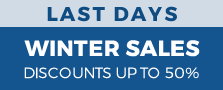 WINTER SALES UNTIL 50% OFF EXPIRES ON 31.01