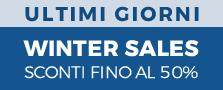 WINTER SALES FINO AL -50% SCADE IL 31.01