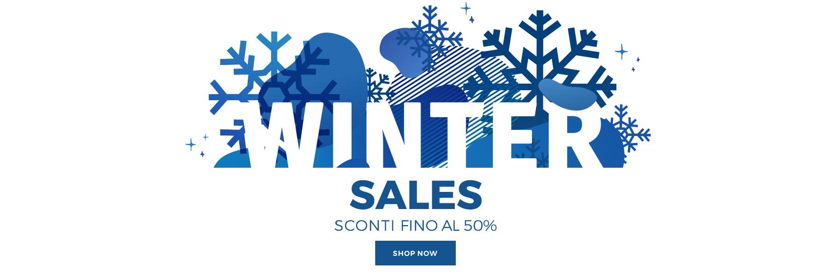WINTER SALES SCONTI FINO AL 50% SCADE IL 31.01