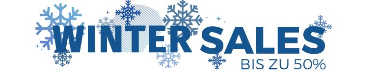 WINTER SALES BIS ZU -50% ENDET AM 31.01