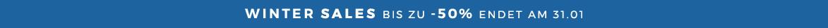 WINTER SALES RABATTE BIS ZU -50% ENDET AM 31.01