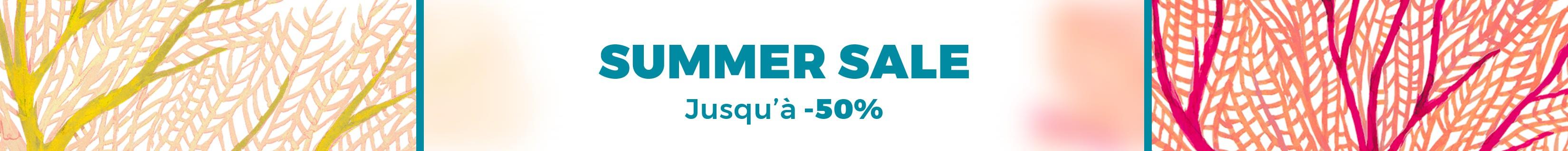 SUMMER SALES REMISES JUSQU'À -50% EXPIRE LE 31.07
