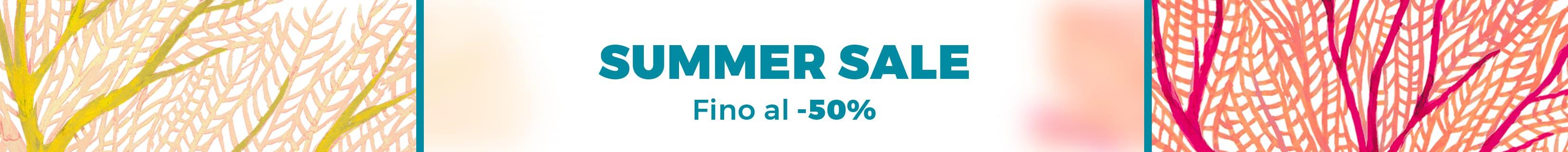 SUMMER SALES SCONTI FINO AL 50% SCADE IL 31.07