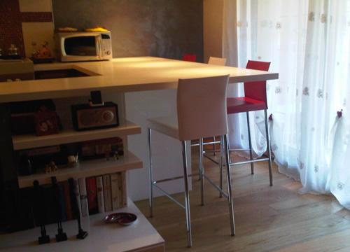 Una comoda penisola in cucina danilo da roma sediarreda - Altezza penisola cucina ...