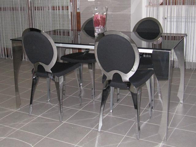 Referenze sedie e tavolo in stile luigi xvi sediarreda for Sedie particolari