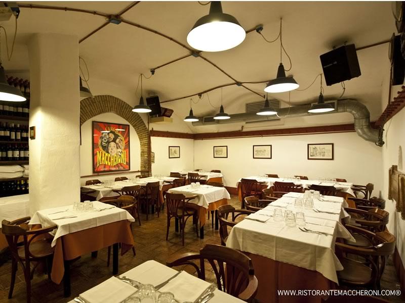 La vera cucina romana ristorante maccheroni roma for Cucina romana rome