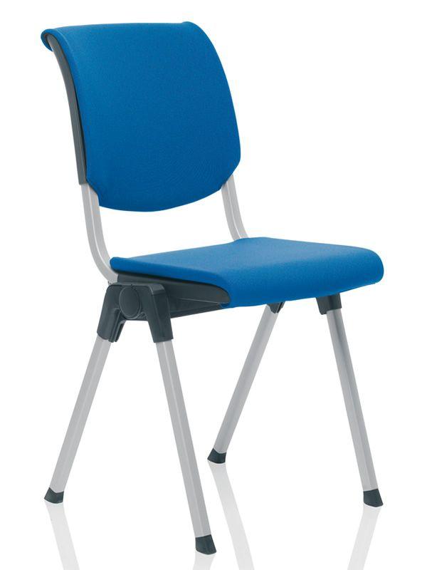 Conventio silla ergonomica de reuni n h g apilable for Sillas ergonomicas para pc